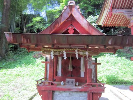 談山神社末社の稲荷神社