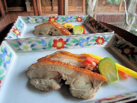 大和肉鶏の照焼