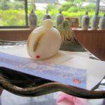 大和黒皮丸芋の兎饅頭