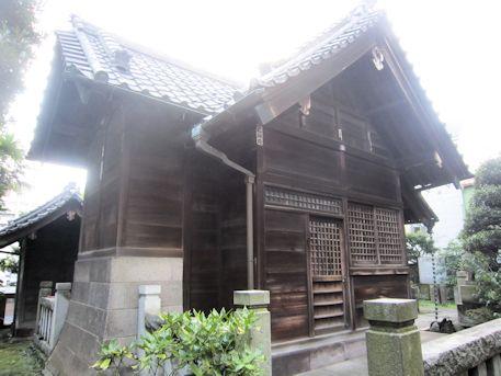 野見宿禰神社拝殿