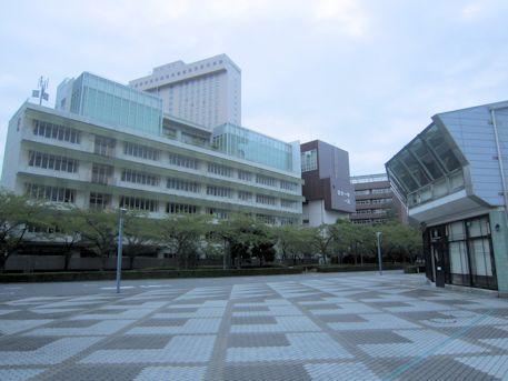 江戸東京博物館の遊歩道