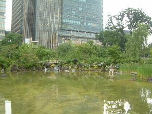 檜町公園と東京ミッドタウン