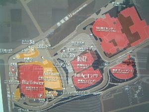 赤坂サカスの地図