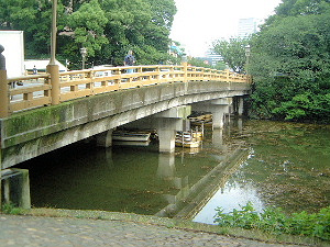 赤坂の弁慶橋