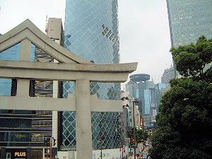 山王日枝神社の鳥居