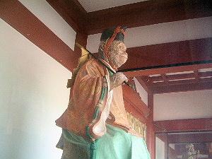 山王日枝神社の猿