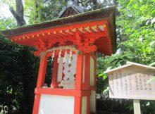 高鴨神社の祓戸神社