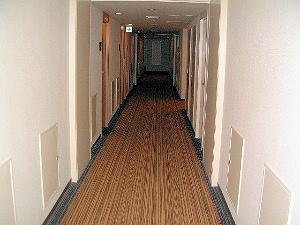ザ・ビー赤坂の客室廊下