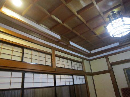 橿原神宮貴賓館の格天井