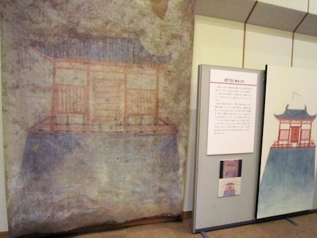 オラーン・ヘレム墓の楼門図