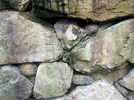 八釣マキト1号墳の石材