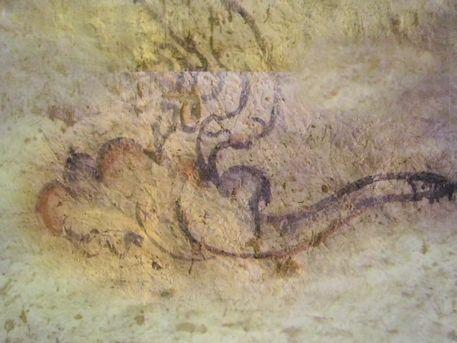 白虎の雲気紋