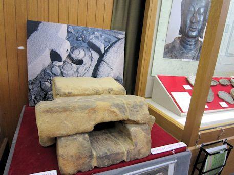 酒船石遺跡の取水口