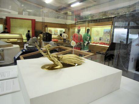 明日香村埋蔵文化財展示室の展示物