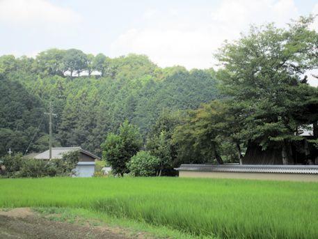 飛鳥寺の鐘と甘樫丘