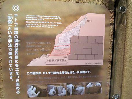 墳丘の版築工法