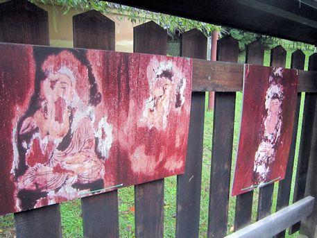 興福寺三重塔の板絵