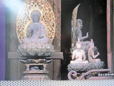 興福寺五重塔内陣