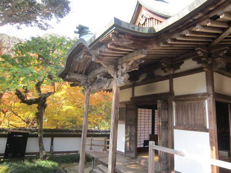 正暦寺の護摩堂