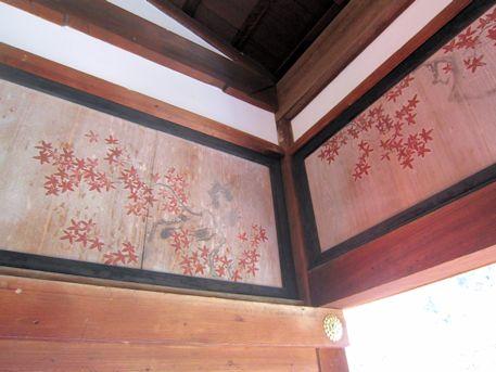 福寿院客殿の欄間絵