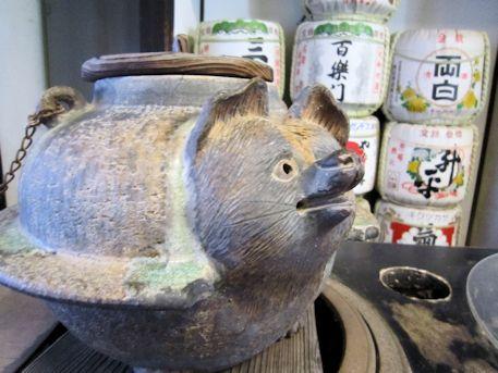 福寿院客殿の酒樽