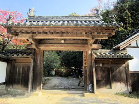 福寿院客殿の山門