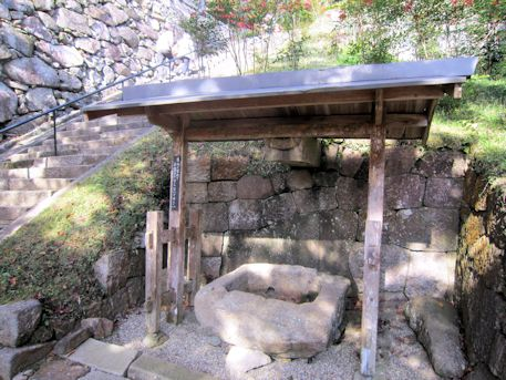 正暦寺の手水舎