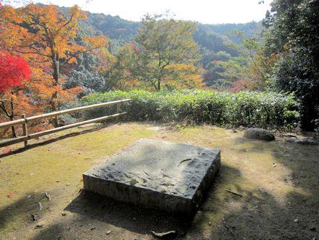正暦寺の基壇