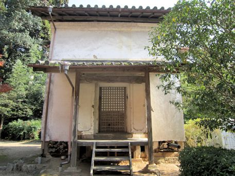 正暦寺の蔵