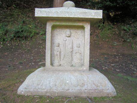 正暦寺の石仏