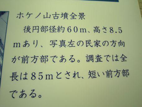 ホケノ山古墳全景