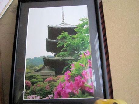 三井寺の三重塔