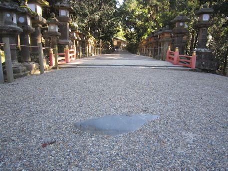 さぐり石と布生橋