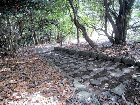 沼山古墳の帰り道