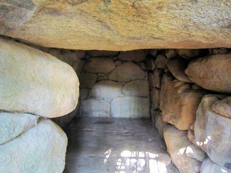 沼山古墳の横穴式石室