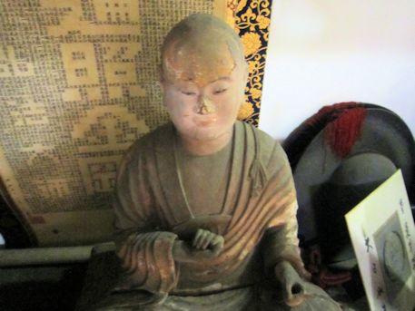 法楽寺弘法大師坐像
