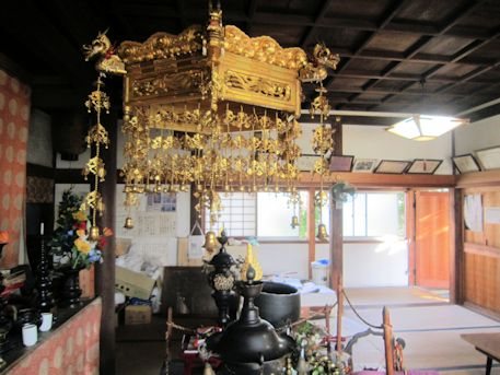 法楽寺地蔵堂の天蓋