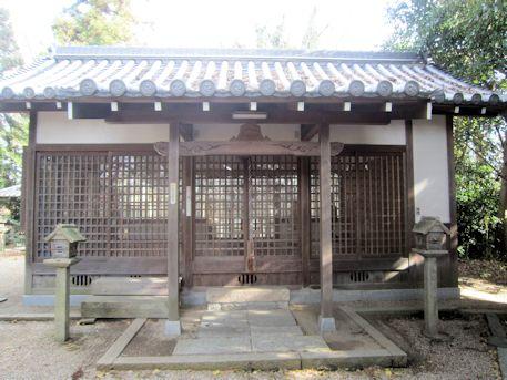 鏡作伊多神社拝殿