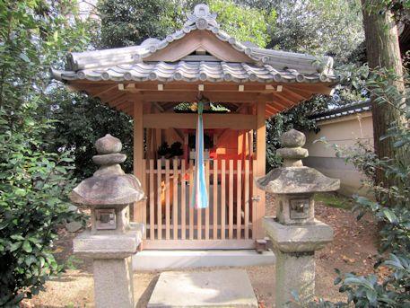 鏡作伊多神社の住吉神社