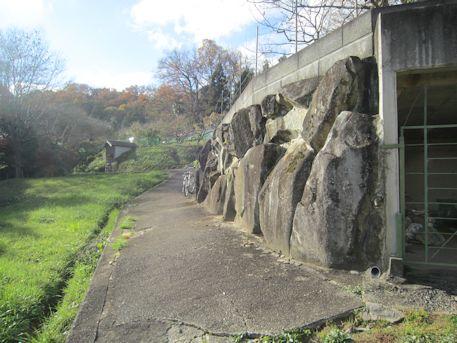 小谷古墳のアクセスルート