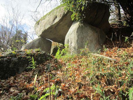 小谷古墳の横穴式石室