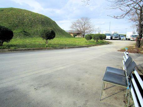 黒田大塚古墳の椅子