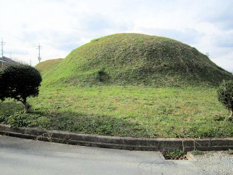 黒田大塚古墳の墳丘