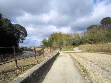 山の辺の道と景行天皇陵