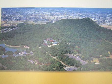 橿原神宮の上空写真