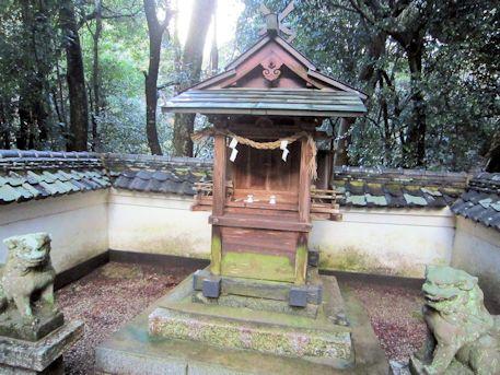 池田神社の社殿