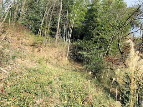 こうぜ古墳群のアクセスルート