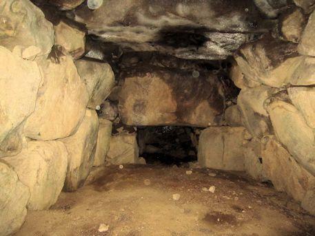 長瀬藪1号墳の横穴式石室