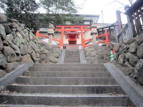 手力雄神社の石段