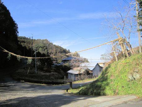 桜井市高家の結界